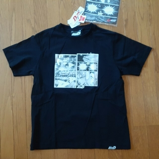 Avail - 3Lサイズ 頭文字D Tシャツ 黒