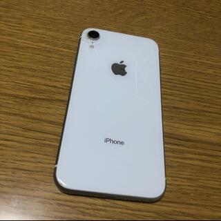 iPhone - iPhone  XR ホワイト 64 GB SIMフリー 本体
