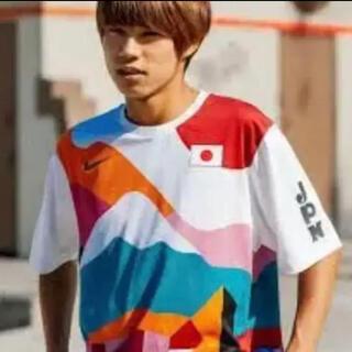 NIKE SB PARRA CREW JERSEY JAPAN 堀米 西矢(Tシャツ/カットソー(半袖/袖なし))