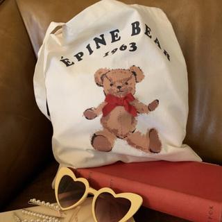 EPINE エピヌ BEAR tote bag エコバッグ トート バッグ