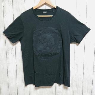 DIESEL - 美品☆DIESEL ディーゼル メンズ Tシャツ 黒 ブレイブマン
