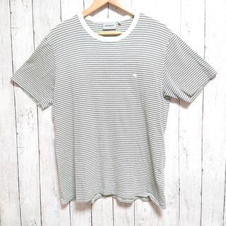 carhartt - カーハート Tシャツ メンズ ボーダー L ワンポイントロゴ