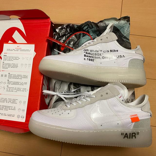 NIKE AIR Force1×off-white メンズの靴/シューズ(スニーカー)の商品写真