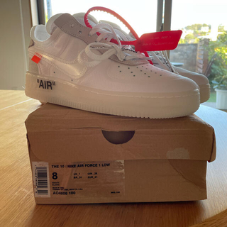 NIKE AIR Force1×off-white