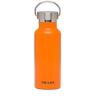 PRADA - PRADA プラダ ステンレスボトル タンブラー 水筒 オレンジ 限定カラー