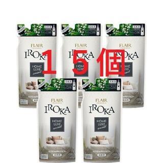 カオウ(花王)のフレア フレグランス IROKA 柔軟剤 ホームリュクス アロマティックミューゲ(洗剤/柔軟剤)