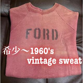 RRL - 超希少〜1960's vintage sweat ステンシルスエット トレーナー