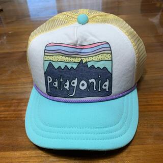 パタゴニア(patagonia)のパタゴニア  キッズ キャップ 新品未使用❣️可愛い❣️(帽子)