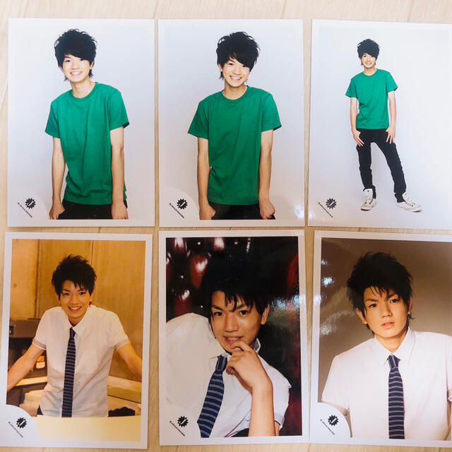 Johnny's(ジャニーズ)の髙地優吾  Jr.  公式写真 エンタメ/ホビーのタレントグッズ(アイドルグッズ)の商品写真