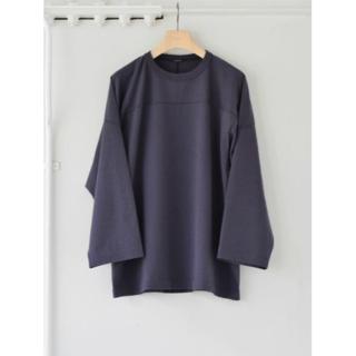 【新品未使用】21AW COMOLI(コモリ) フットボール Tシャツ