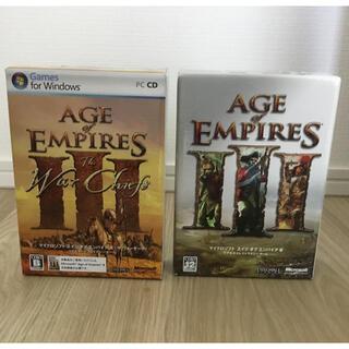 マイクロソフト(Microsoft)のAge of Empires III &The War Chiefs(XP専用)(PCゲームソフト)