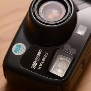 ペンタックス(PENTAX)の電池付 PENTAX フィルムカメラ Zoom 90 WR 防水 動作確認(フィルムカメラ)