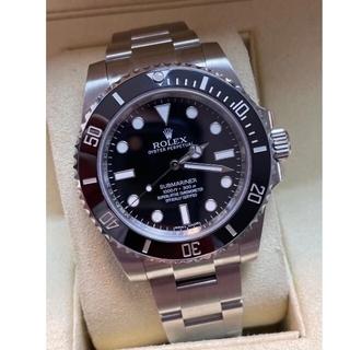 美品 ロレックス サブマリーナ 腕時計 116610LN ブラック文字盤