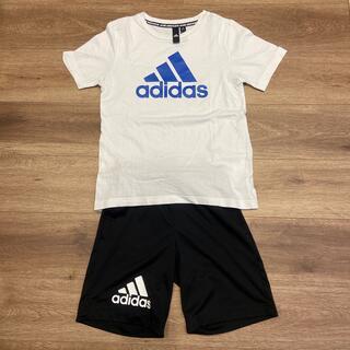 adidas - ジュニアサイズ☆アディダス・Tシャツハーフパンツセット