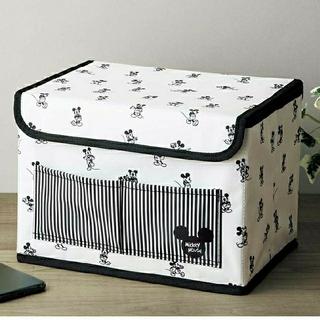 ミッキーマウス(ミッキーマウス)のミッキー ミッキーマウスデザイン 収納ボックス inRed 付録(小物入れ)