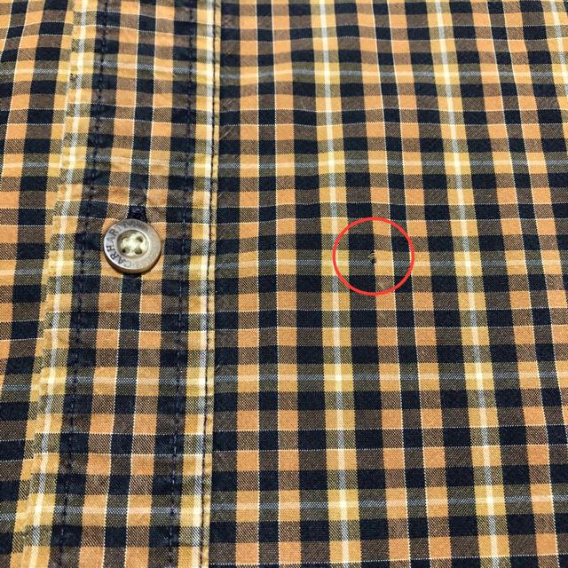 carhartt(カーハート)のカーハート☆レザーロゴ入りポケットワークチェックシャツ メンズのトップス(シャツ)の商品写真