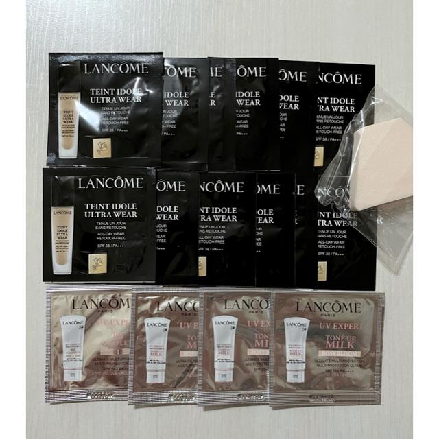 LANCOME(ランコム)のLANCÔME ファンデ 下地 特大サンプルセット16包♡ コスメ/美容のキット/セット(サンプル/トライアルキット)の商品写真