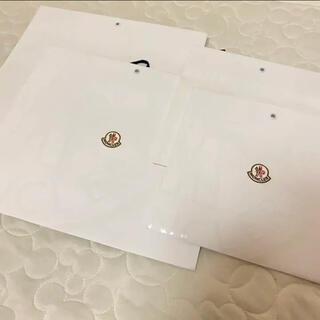 モンクレール(MONCLER)のMONCLER  ショップ袋 4枚セット(ショップ袋)