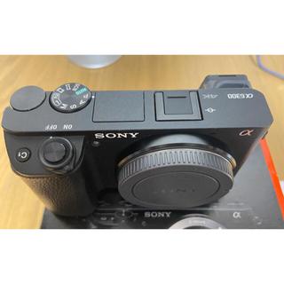 SONY - ソニーSONY a6300ボディ 2025年保証 ショット数 829枚
