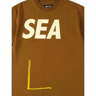Supreme - WIND AND SEA ウィンダンシー Tシャツ ブラウン
