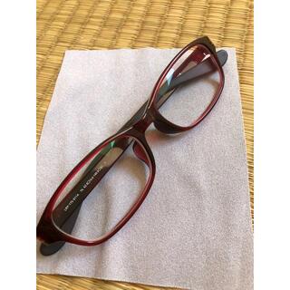 JINS - JINS 赤フレームメガネ