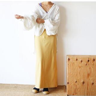 ビューティアンドユースユナイテッドアローズ(BEAUTY&YOUTH UNITED ARROWS)のaere jacquard skirt アエレ(ロングスカート)