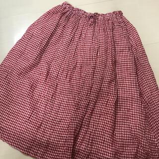 nest Robe - ネストローブ  ギンガムチェック スカート 美品