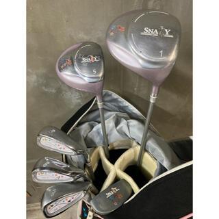 レディース ゴルフクラブセット 6本セット 右利き用