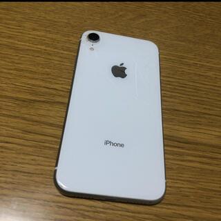 iPhone - iPhone  XR ホワイト 64GB SIMフリー 本体