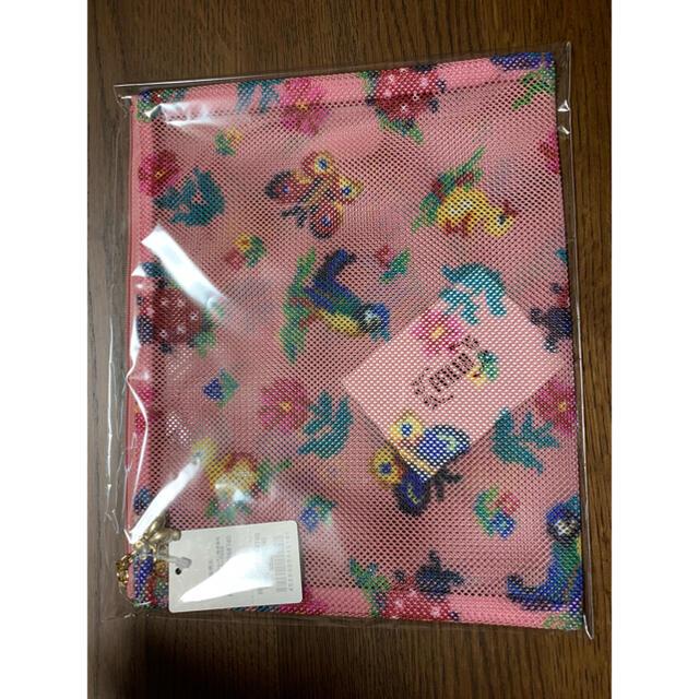 FEILER(フェイラー)のフェイラー メッシュポーチ ハイジ グレースピンク レディースのファッション小物(ポーチ)の商品写真
