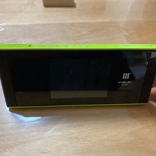 ファーウェイ(HUAWEI)のSpeed Wi-Fi NEXT W05 グリーン(その他)