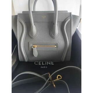celine - 【超美品】CELINE ラゲージナノ コール