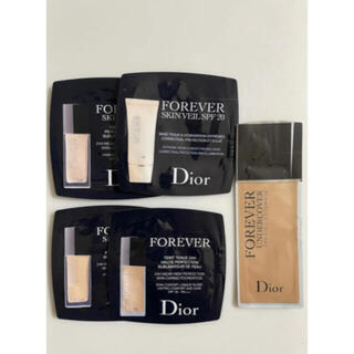Christian Dior - Dior Foreverファンデーションサンプルセット新品未使用5袋