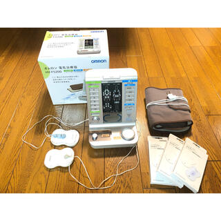 オムロン(OMRON)のオムロン電気治療器 HV-F5200(マッサージ機)