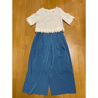 アーバンリサーチ(URBAN RESEARCH)のレディース オフィス ブラウス パンツ セット(Tシャツ(半袖/袖なし))