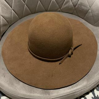 ドゥーズィエムクラス(DEUXIEME CLASSE)のドゥーズィエムクラス ヘレンバーマン 帽子 女優帽 ハット(ハット)