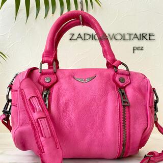Zadig&Voltaire - 正規品 ZADIG&VOLTAIRE 4.6万 2way レザーショルダーバッグ