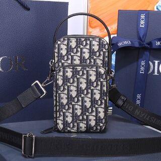 Christian Dior - dior ディオール オブリーク ジャカード ポーチ