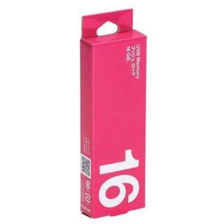 エレコム(ELECOM)の【未使用新品】USBメモリ 16GB★1個ピンク(PC周辺機器)