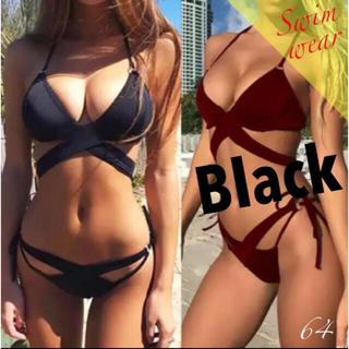 水着 レディース ビキニ ブラジリアン ブラジリアンビニキ 黒 ブラック