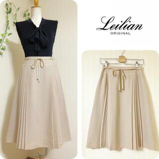 leilian - レリアン ◆ サイドプリーツスカート ◆