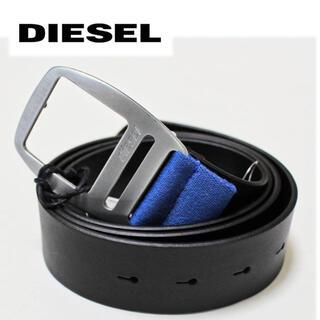 ディーゼル(DIESEL)の《ディーゼル》新品 イタリア製 B-PONSO レザーベルト 5つ穴 (ベルト)