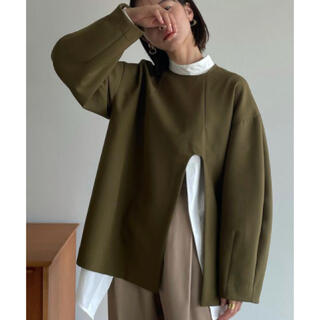 STUDIOUS - クラネ clane ARCH CUT DOUBLE CLOTH TOPS
