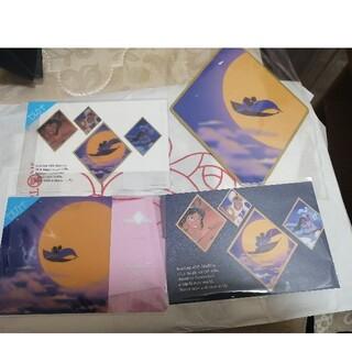 Disney - ディズニープリンセス展 アラジン ジャスミン  ポストカード セルカード