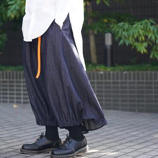 Yohji Yamamoto - Yohji Yamamoto 19SS  デニムカラスパンツ