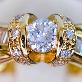 k18 2種カット ダイヤモンド リング💍