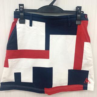 le coq sportif - ルコックゴルフウェア 渋谷アートプリントスカート QGWPJE01  9号(M)