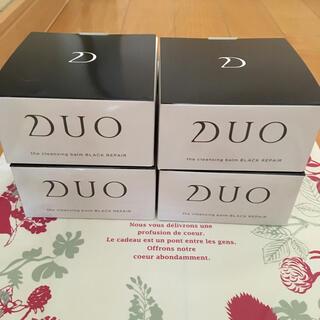 DUO クレンジングバームブラック90g×4個