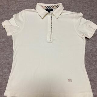 バーバリー(BURBERRY)のシャツ  オフホワイト  バーバリー(Tシャツ(半袖/袖なし))
