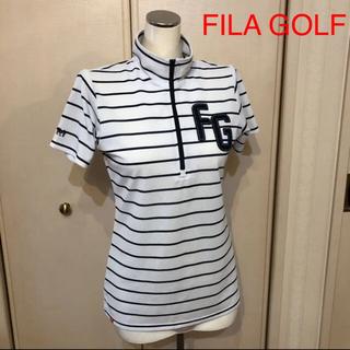 フィラ(FILA)のFILA GOLF   レディース ボーダーウェア(ポロシャツ)